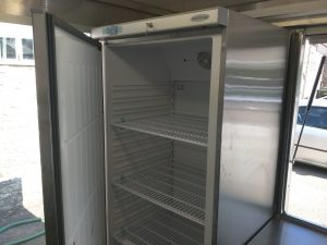 Full height upright fridge