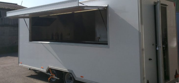 Brand new adventure catering trailer